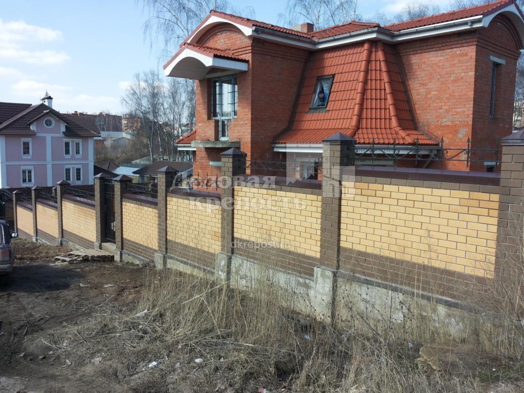 1 - Кирпичный забор фото (ПК Деловая крепость тел.8-4872-580-590).jpg