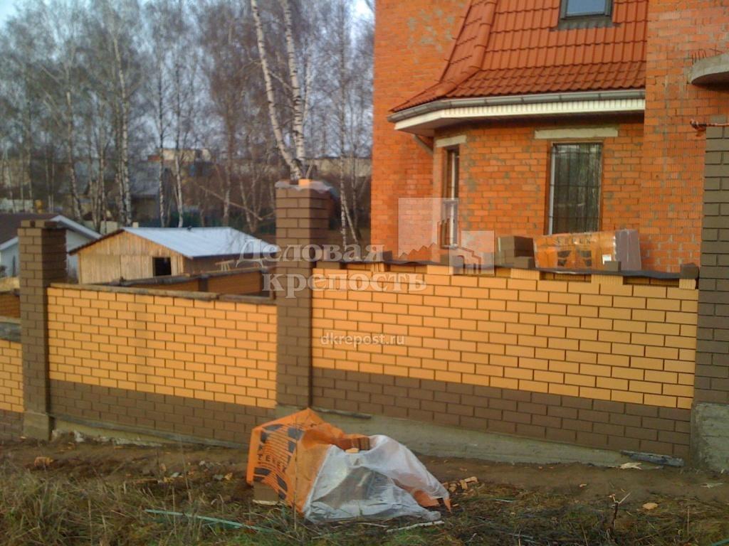 4 - Кирпичный забор фото (ПК Деловая крепость тел.8-4872-580-590).jpg